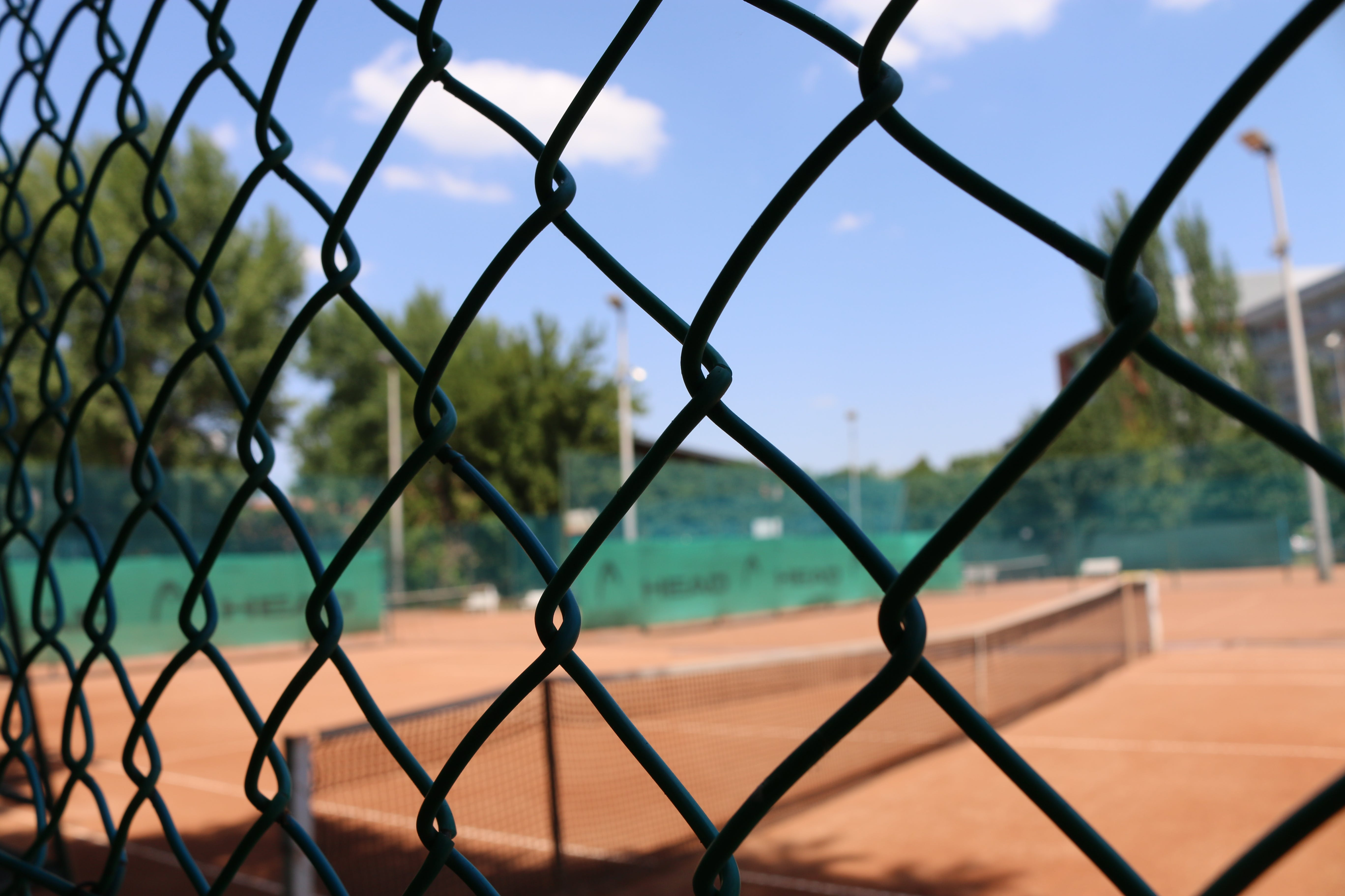 Free stock photo of ball, court, fances, fitness