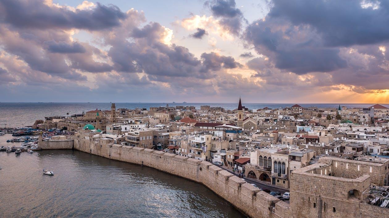 고대 도시, 고대의, 구름 낀 하늘의 무료 스톡 사진