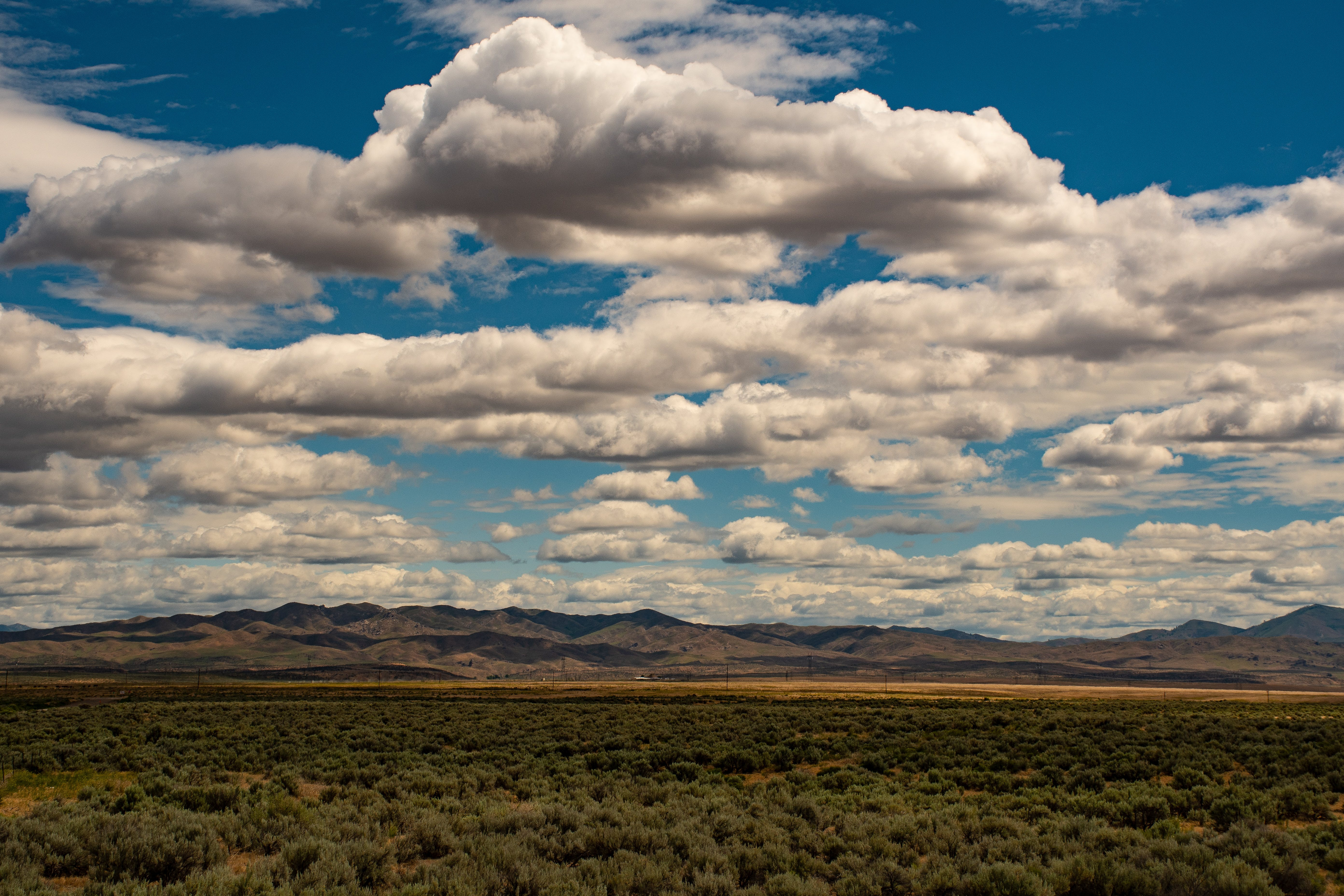 Free stock photo of landscape, mountains, nature, clouds