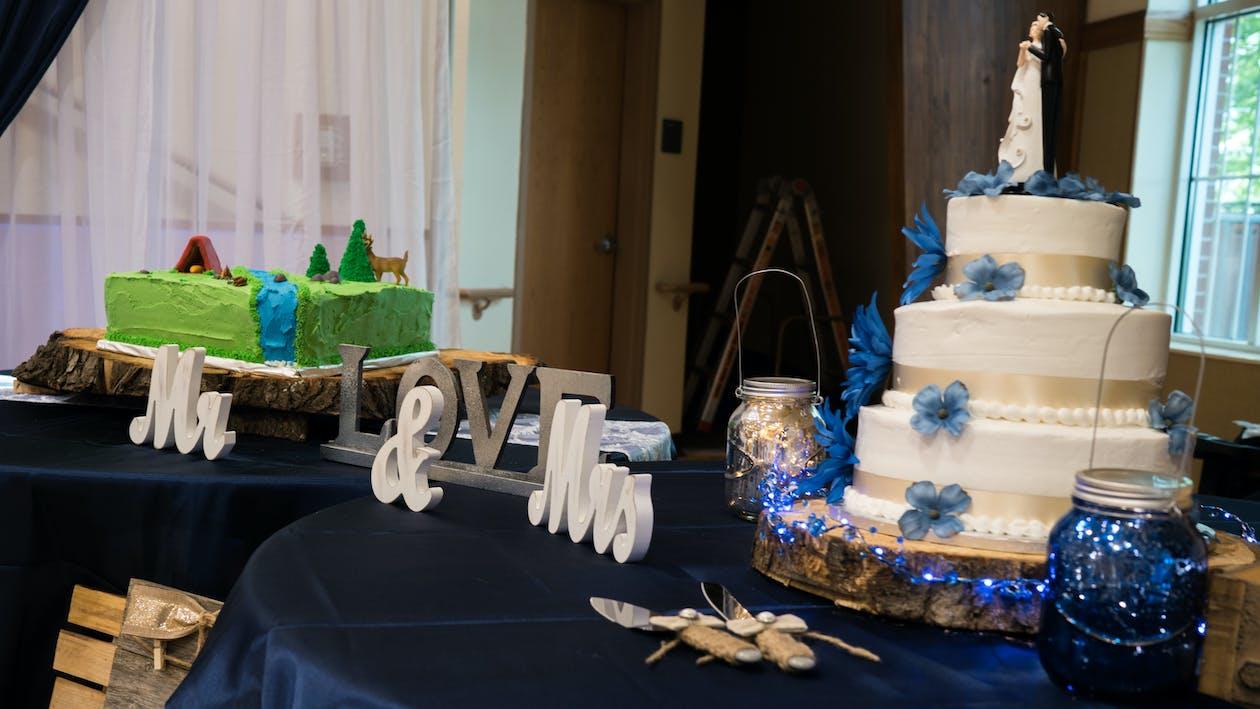 Free stock photo of wedding, wedding cakes