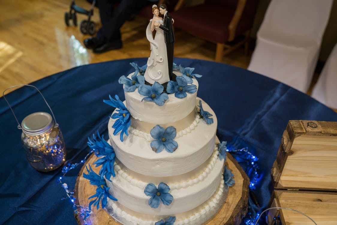 Free stock photo of wedding, wedding cake