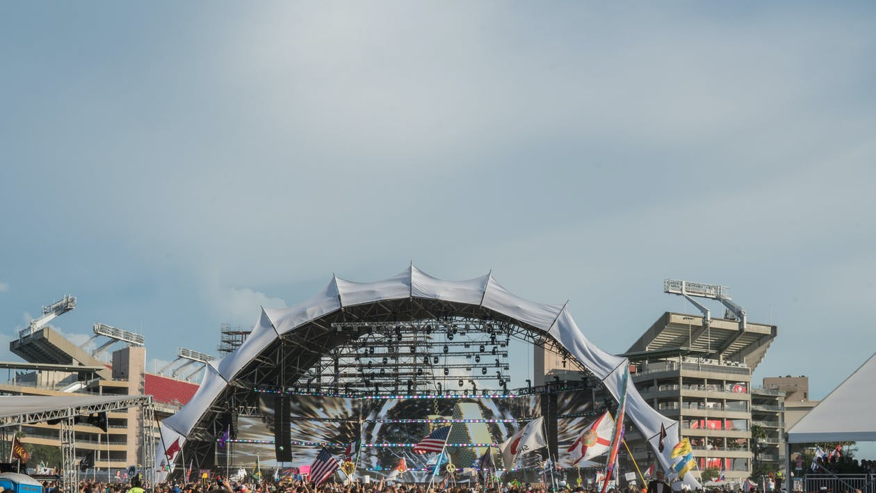 Free stock photo of concert, festival