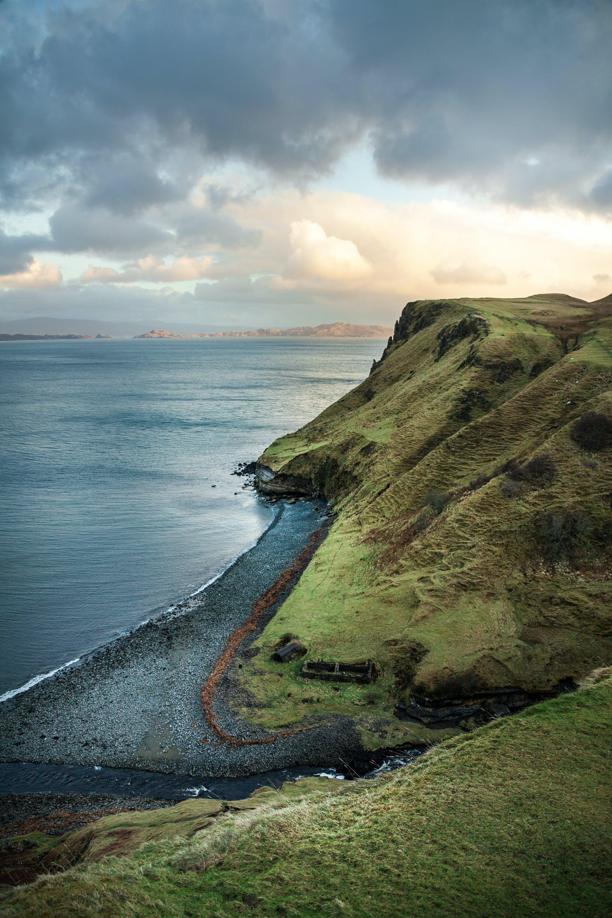 Fotobanka sbezplatnými fotkami na tému krajina, krajina pri mori, leto, malebný