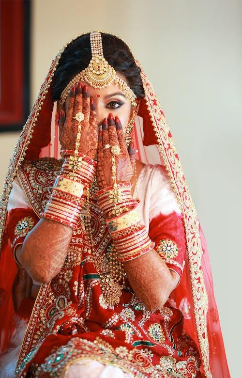Безкоштовне стокове фото на тему «індійська дівчина, індійський, Індія, весілля»