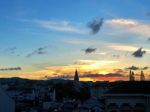 Základová fotografie zdarma na téma církev, obloha