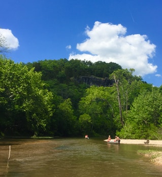 Free stock photo of river, canoeing