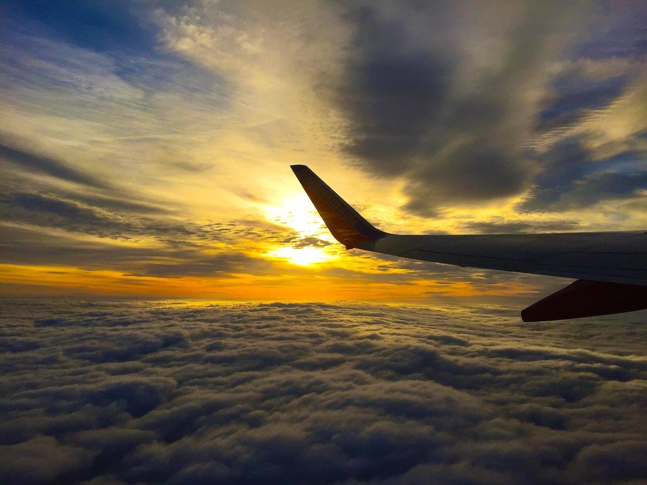 Tips voor het fotograferen uit een vliegtuig