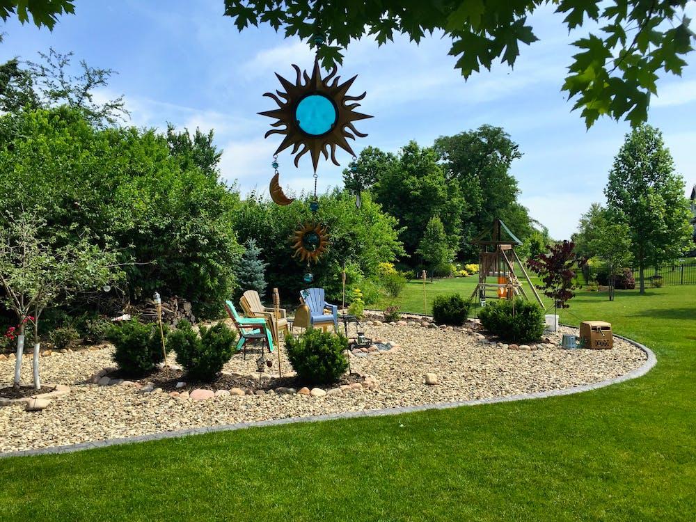 Free stock photo of backyard, landscaping