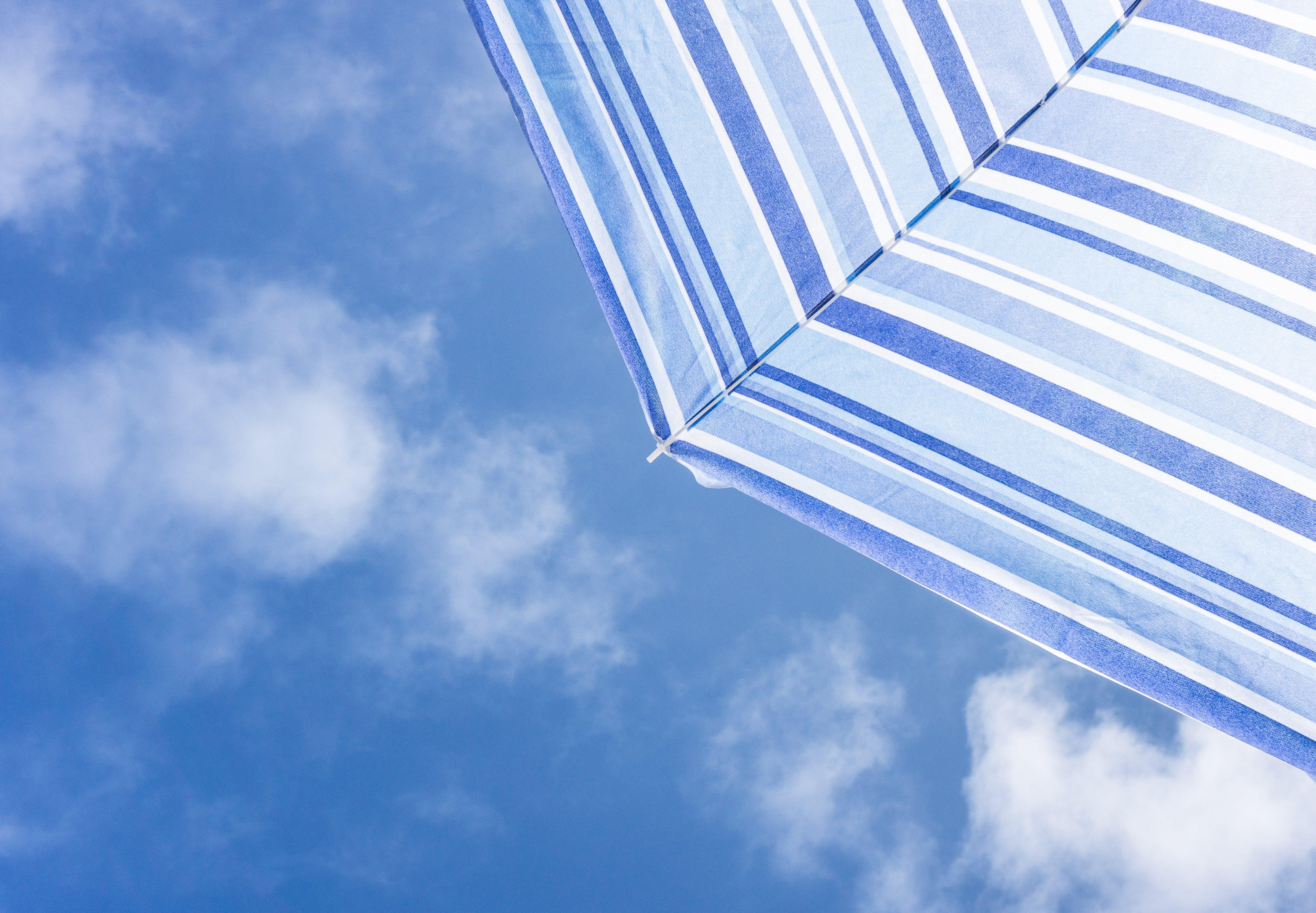 Kostenloses Stock Foto zu licht, blau, sommer, sonne
