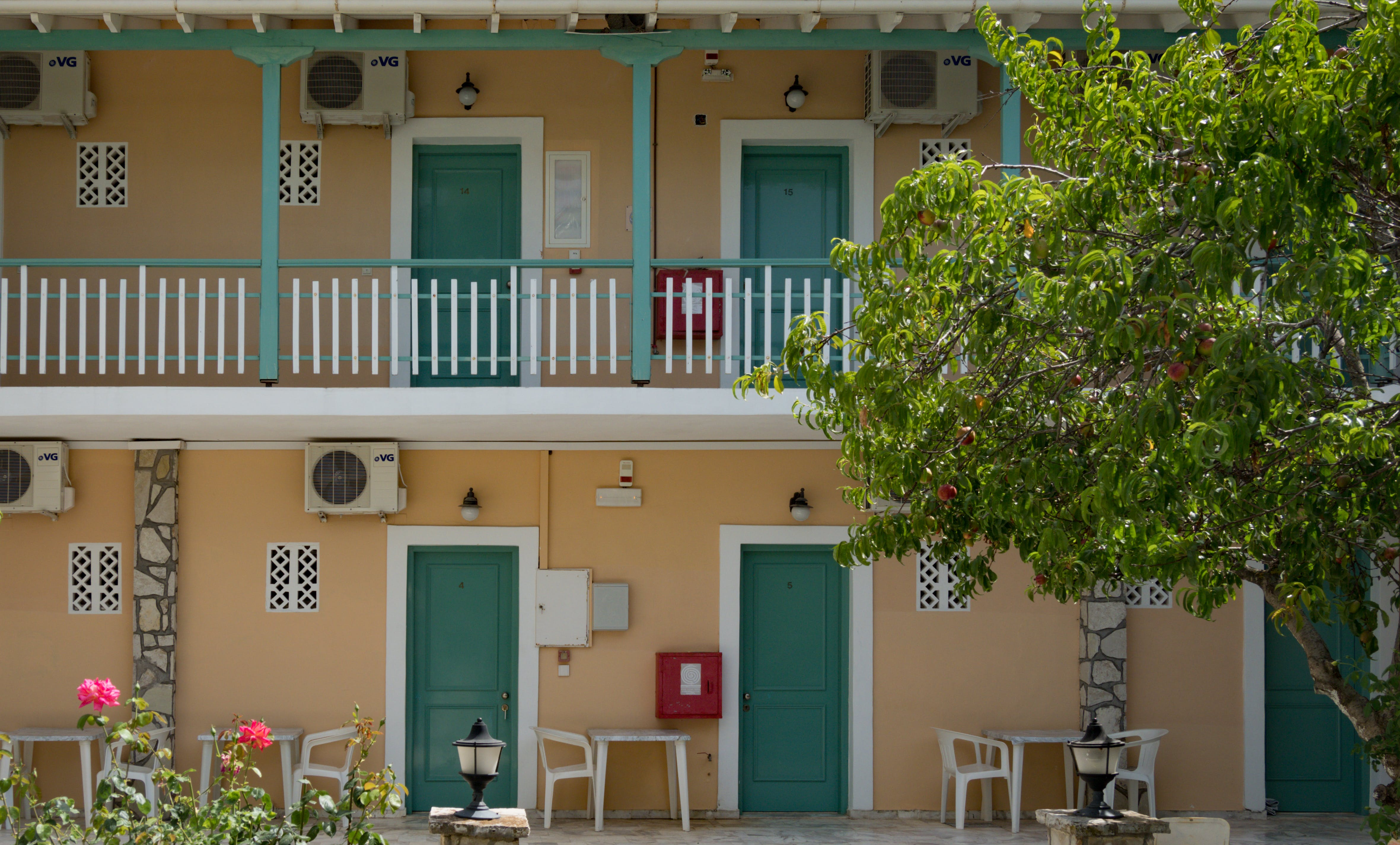 Free stock photo of greece, hotel