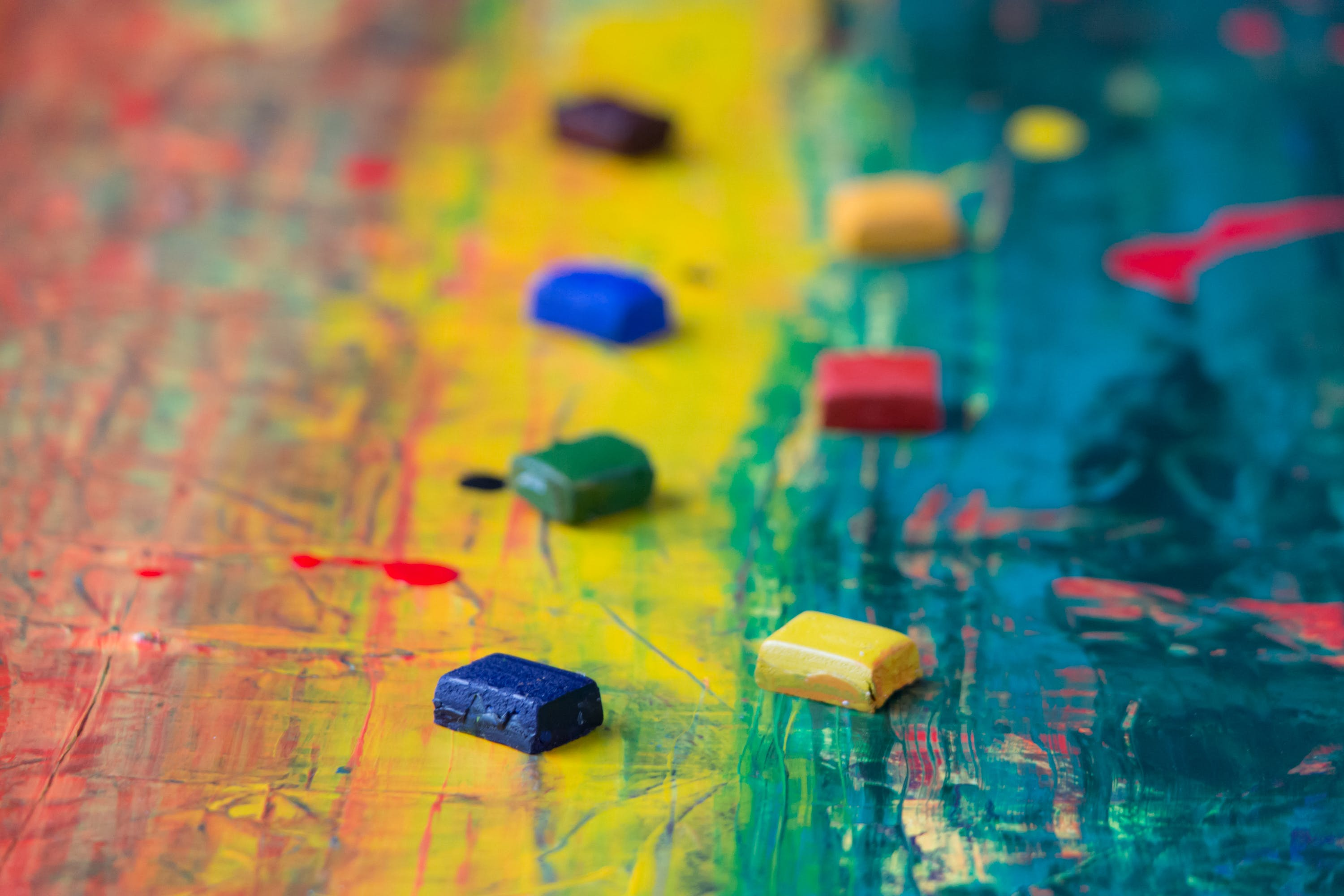 Free stock photo of art, creative, painting, blur