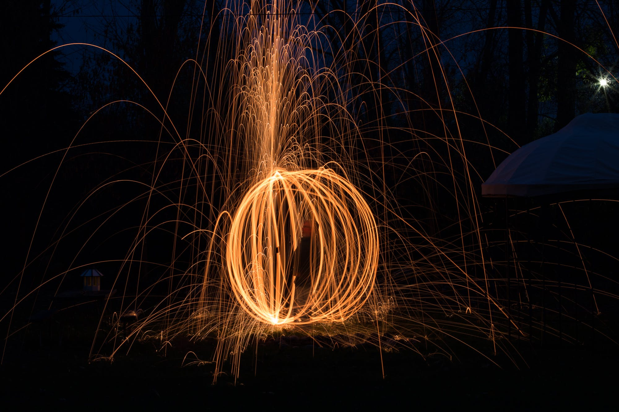 Free stock photo of long exposure, sparks