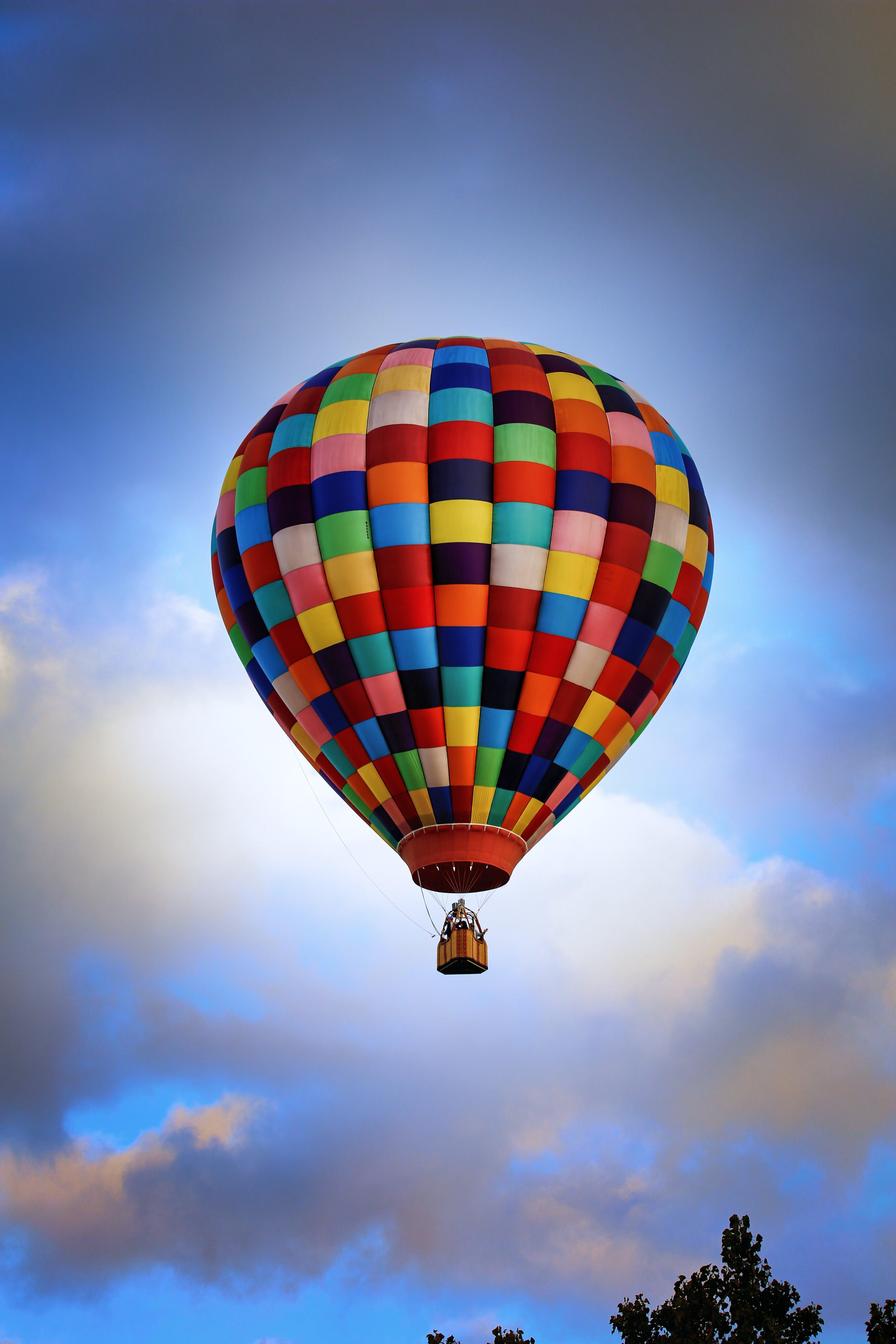 Free stock photo of balloon, colorful, hot air balloon