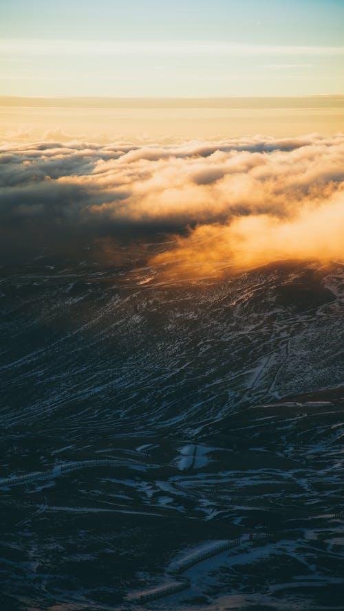 Δωρεάν στοκ φωτογραφιών με βουνά, γραφικός, θέα από ψηλά, ορίζοντας