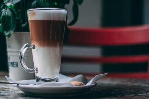 Základová fotografie zdarma na téma bisquit, caffè latte, hnědá, hrnec
