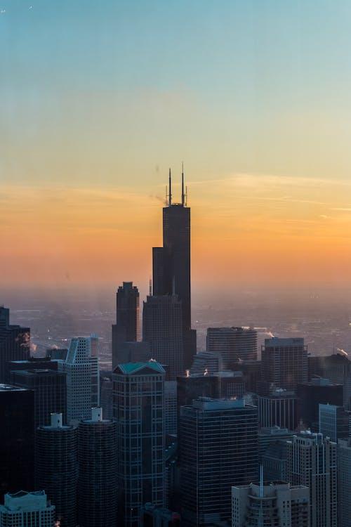 Immagine gratuita di architettura, chicago, città, paesaggio urbano