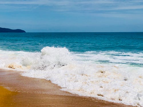 Free stock photo of beach, deep ocean, Mai Khao, ocean