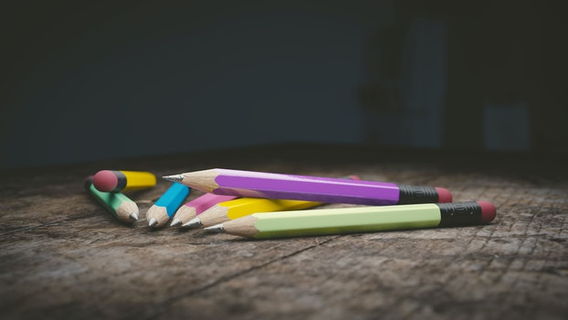 Free stock photo of pencil, photography, colorful