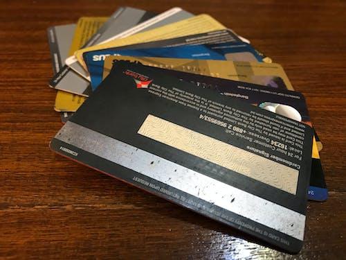 クレジットカードの無料の写真素材