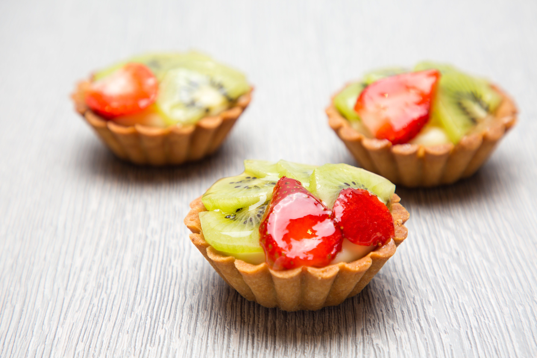 Free stock photo of kiwi, strawberry, tart