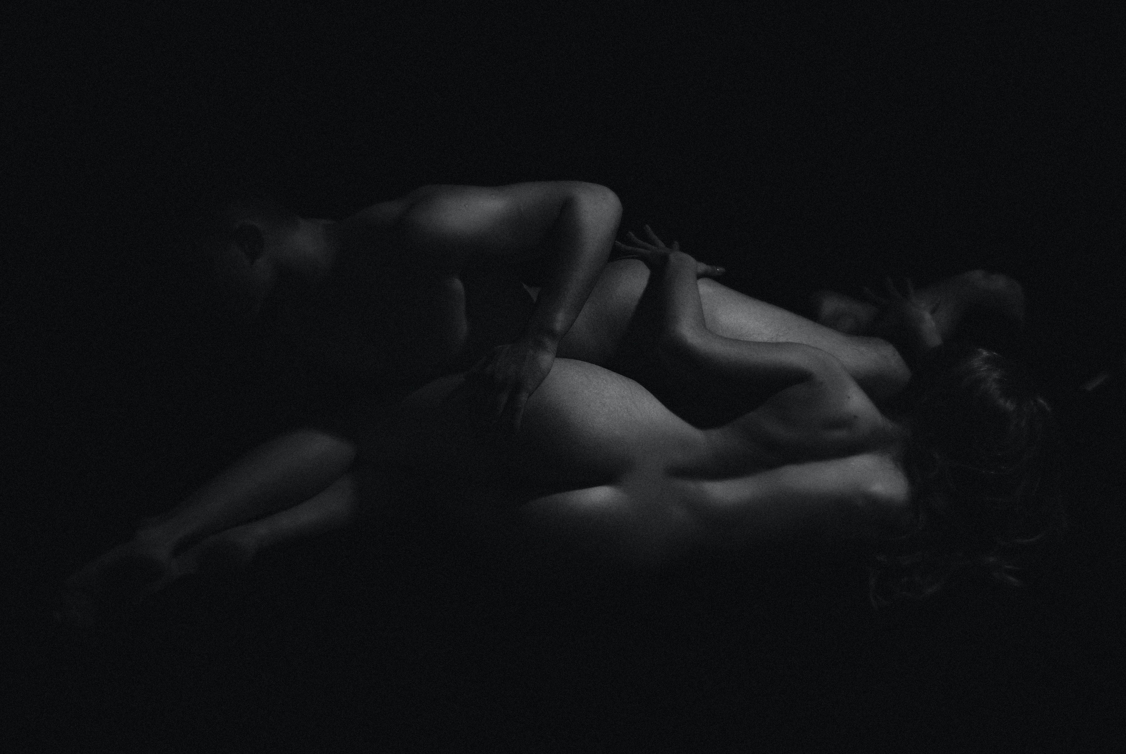 Black and white erotic wallpaper