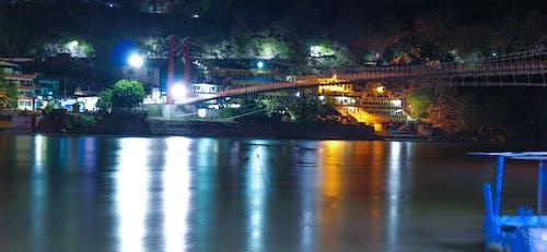 Foto stok gratis foto-foto, fotografi malam, India, kota malam