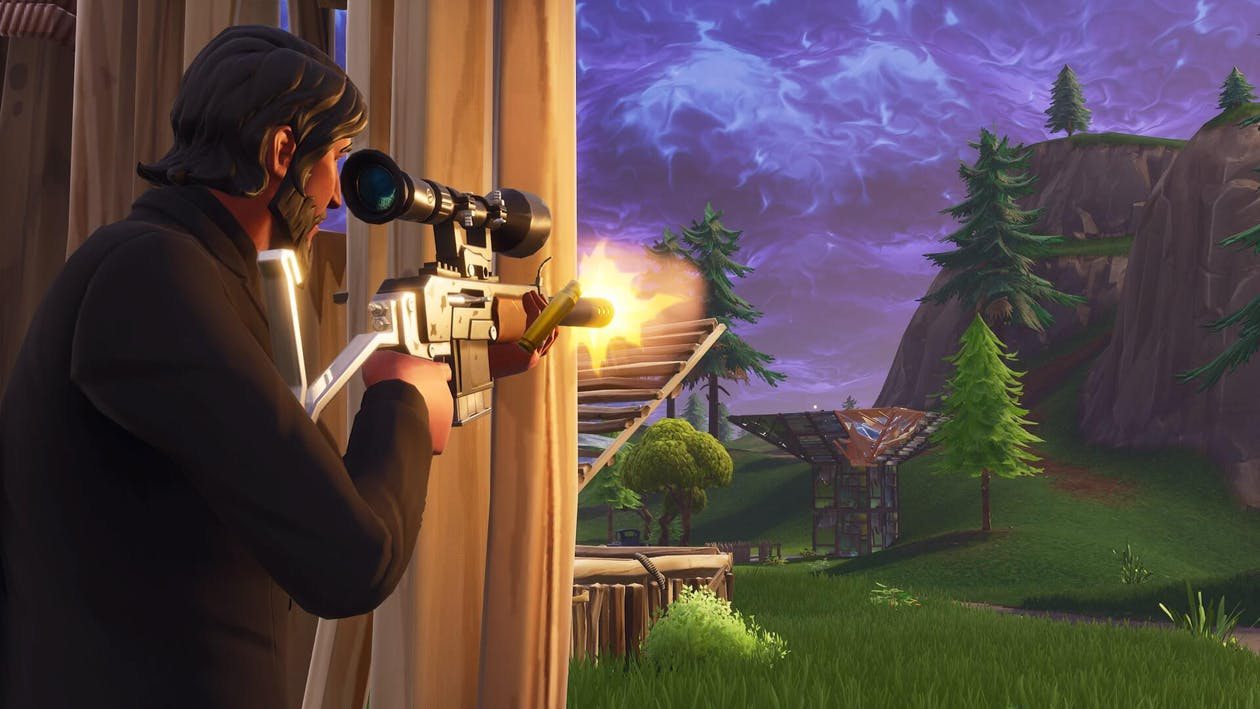 fortnite Gameplay Screenshot