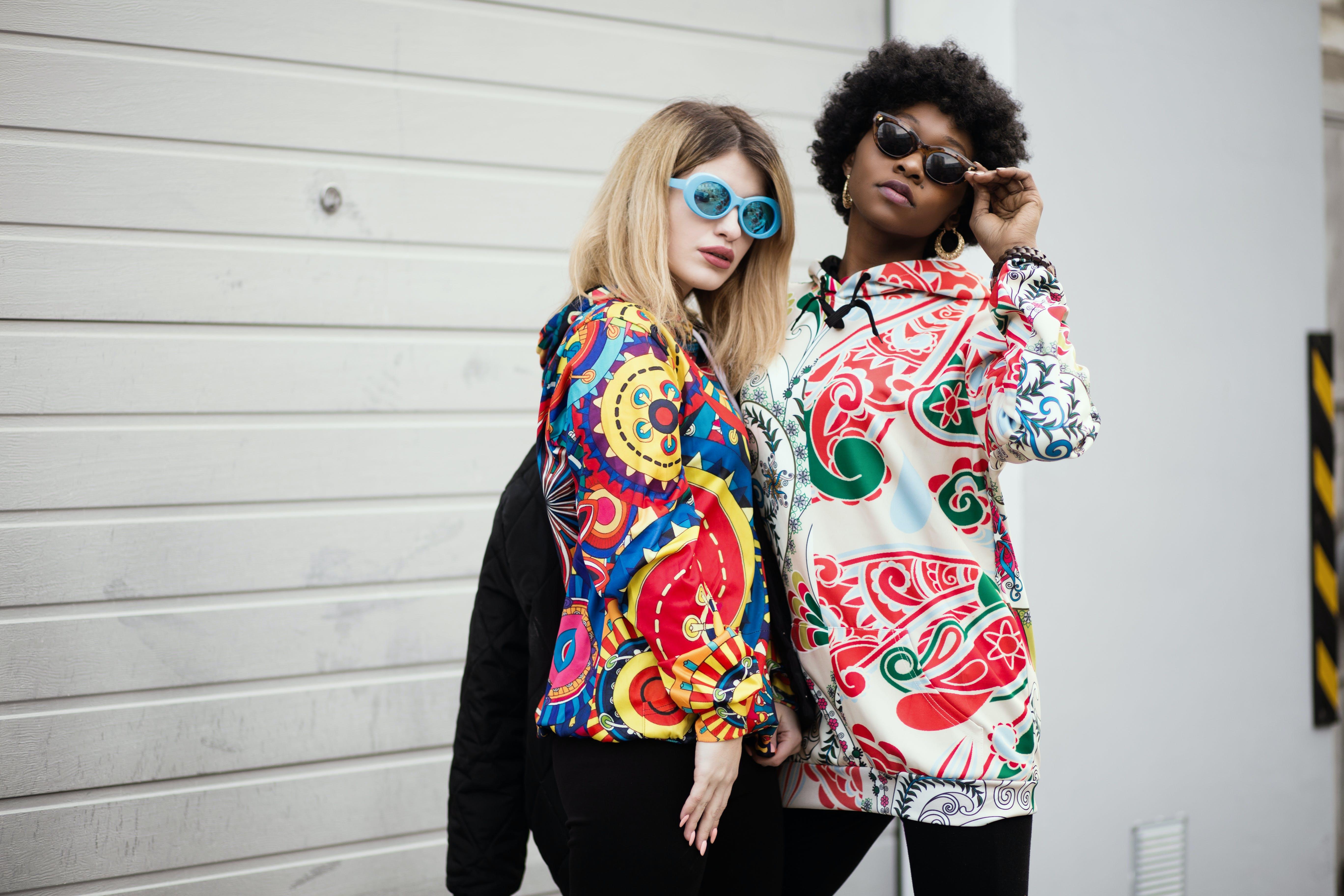Kostenloses Stock Foto zu design, farben, fashion, frauen