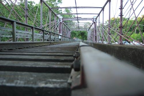Free stock photo of railroad tracks
