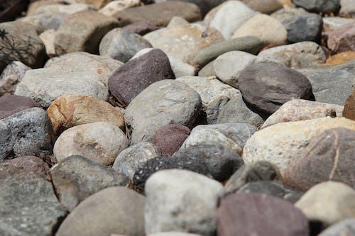 Free stock photo of river rocks