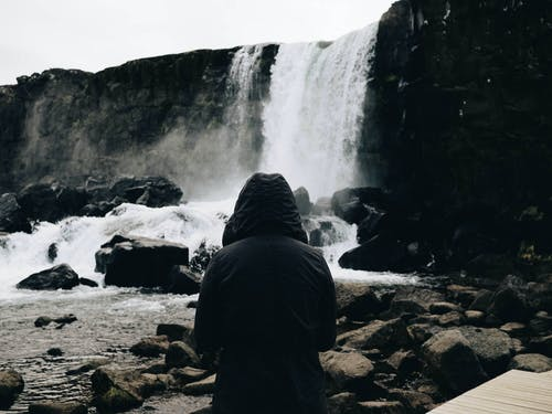 Imagine de stoc gratuită din apă, cascade, fată, femeie