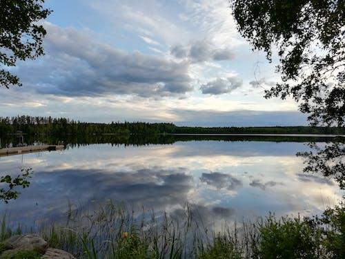 Imagine de stoc gratuită din imagine în oglindă, nori