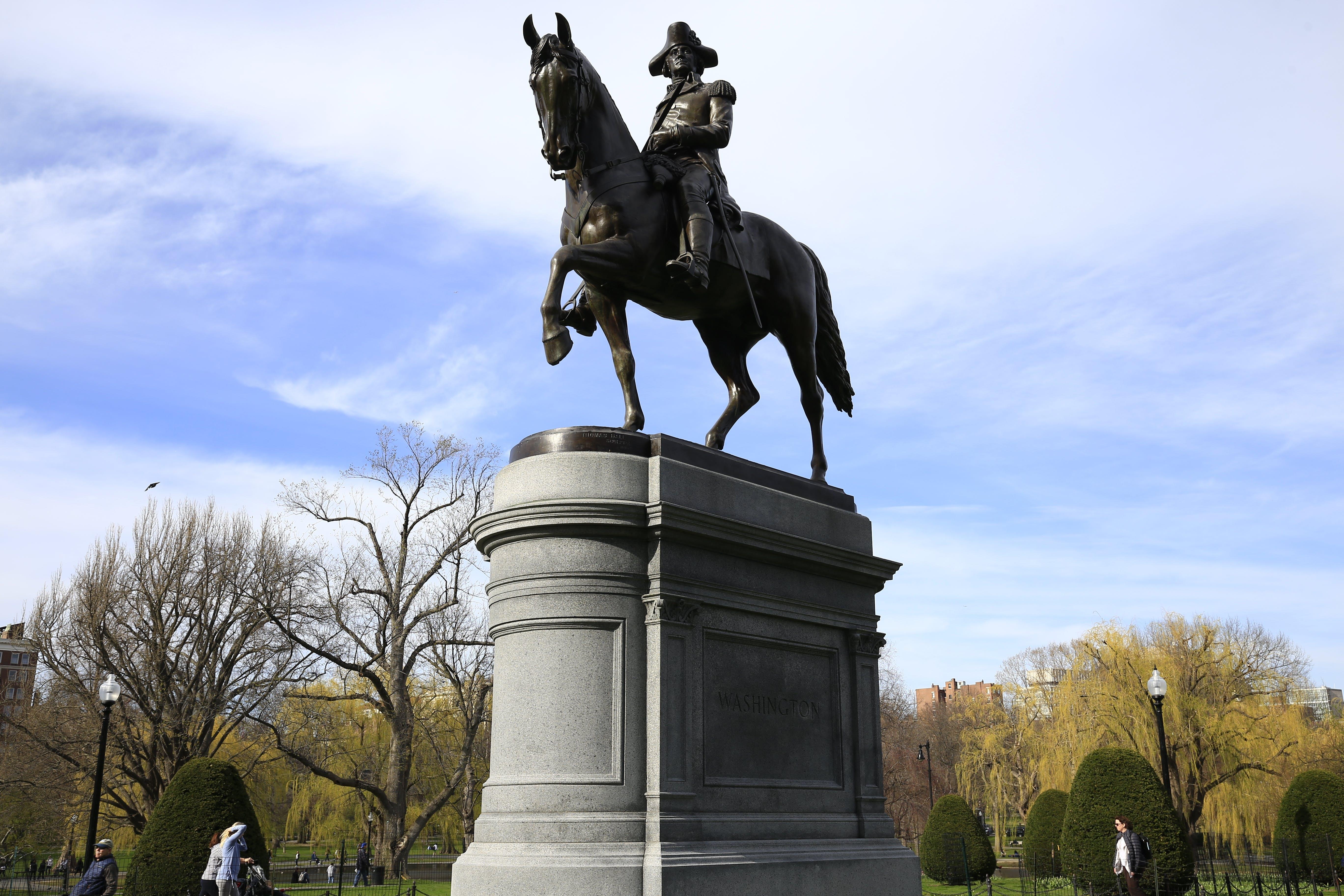 Free stock photo of George Washington, statue