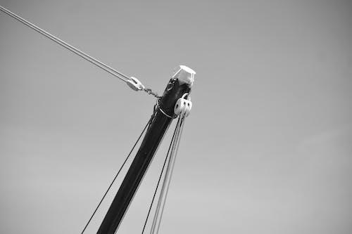 คลังภาพถ่ายฟรี ของ bateaux, cordes, noeuds, poulies
