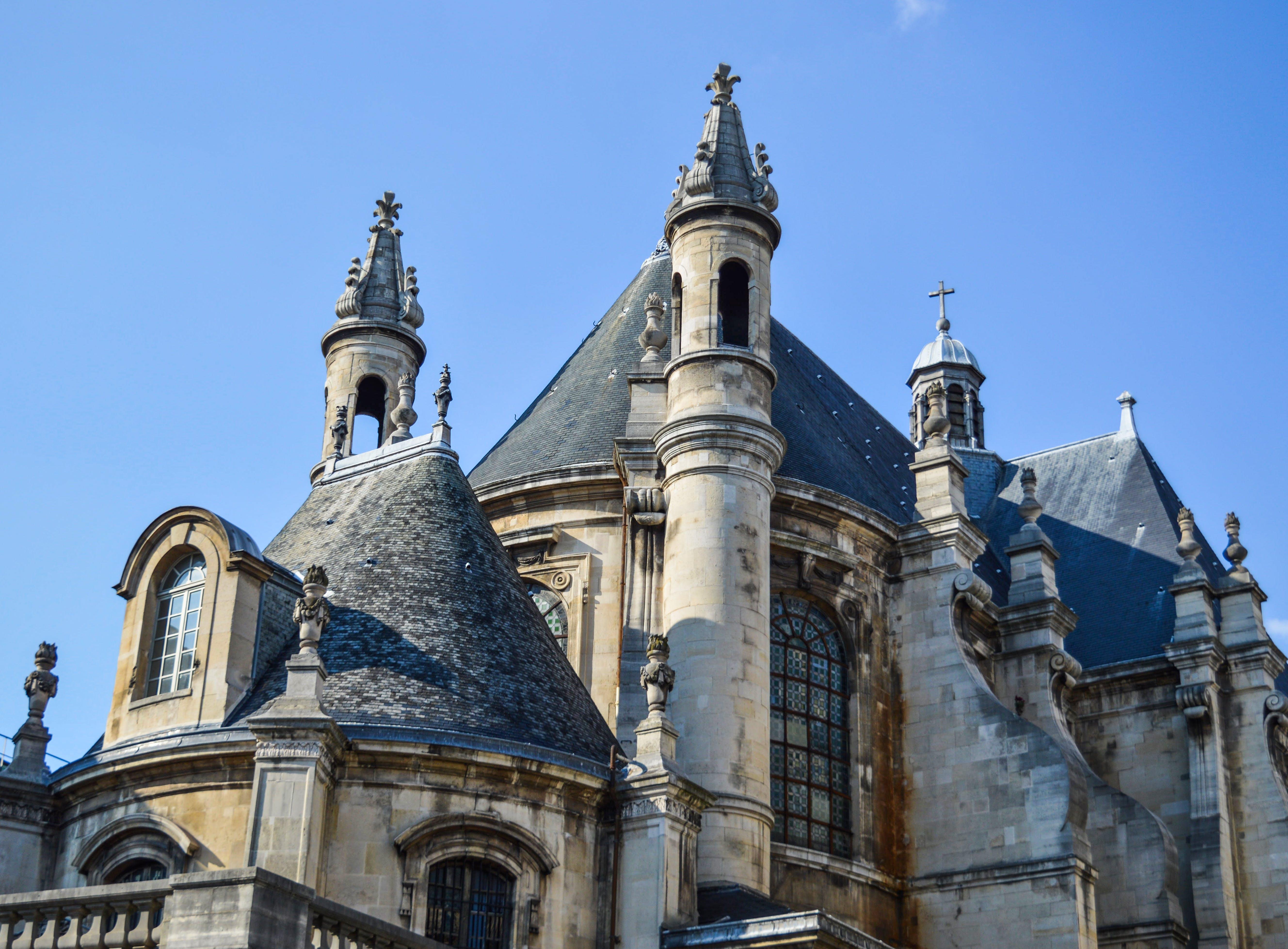 of bastille, beautiful, city, eiffel tower