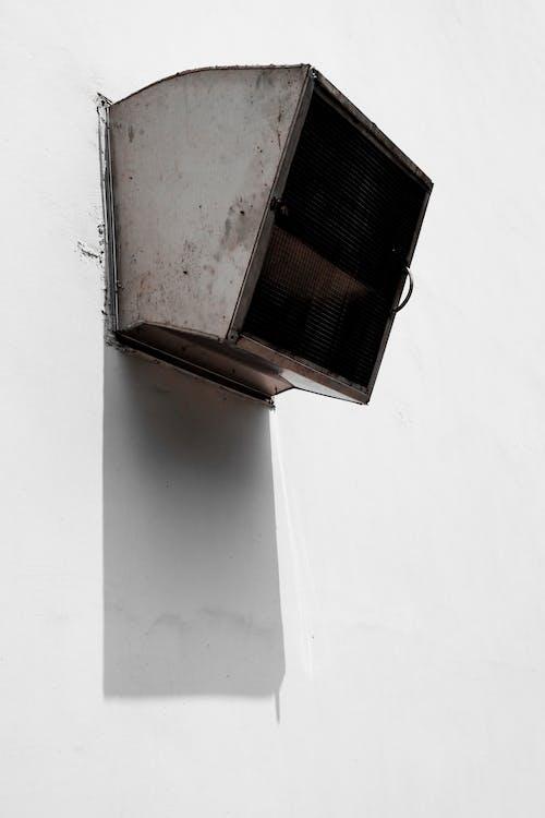 Kostnadsfri bild av betong, byggnad, fläkt, ljus och skugga