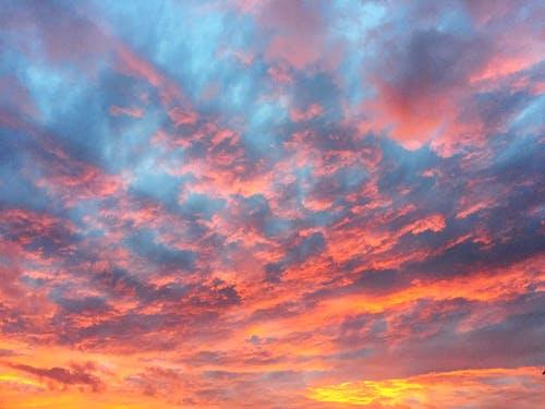Photos gratuites de coucher de soleil, nuages
