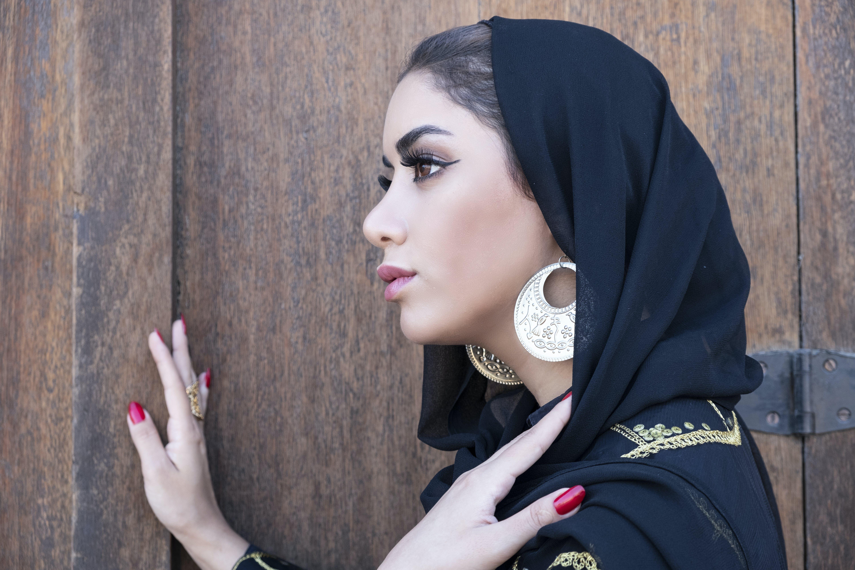 Women's Black Hijab Veil
