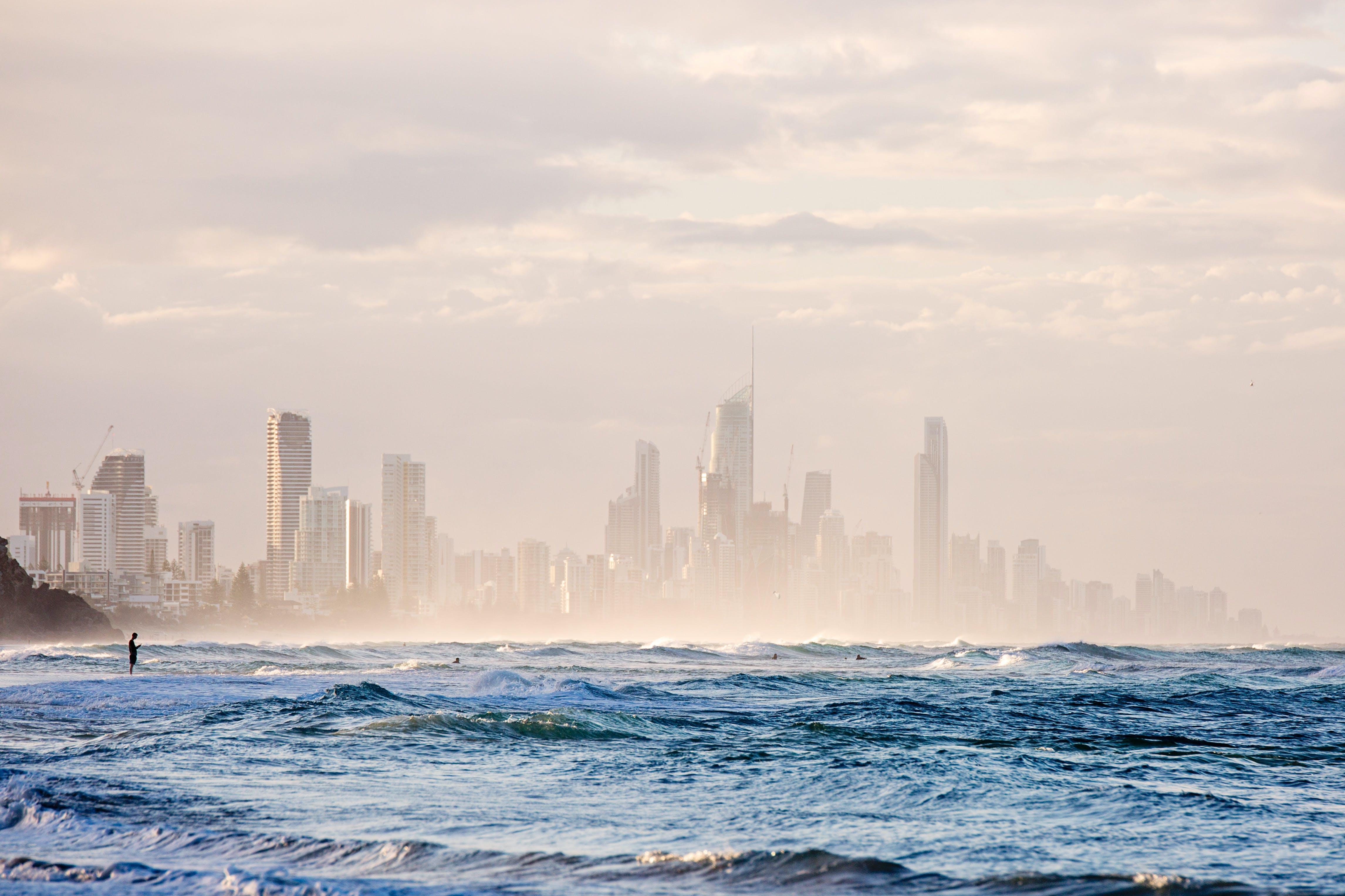 Photo of Buildings Near Ocean