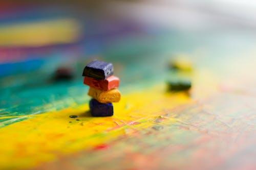Základová fotografie zdarma na téma abstraktní obraz, akrylová malba, barevný, expresionismus
