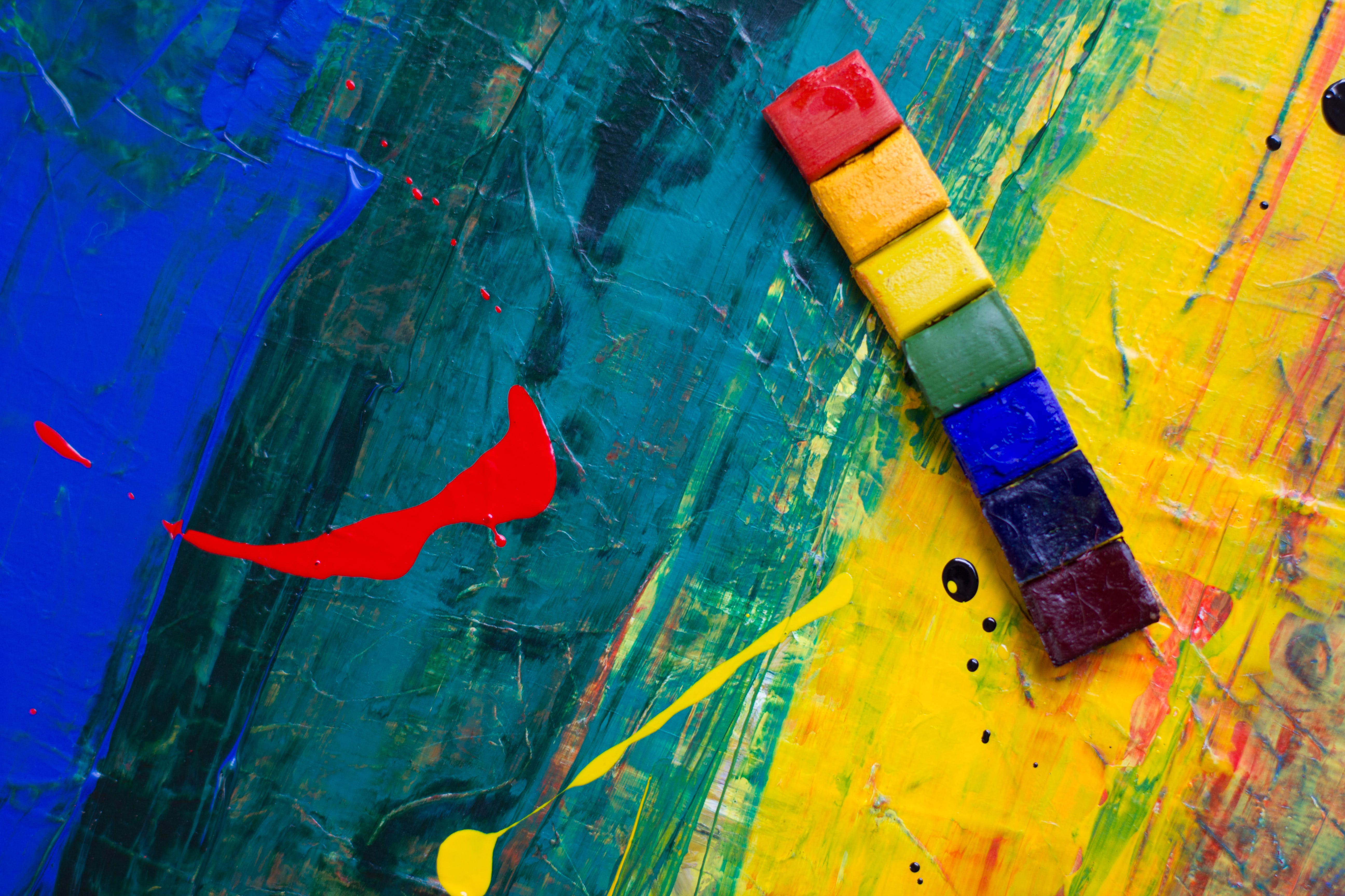 Abstract Color Painting