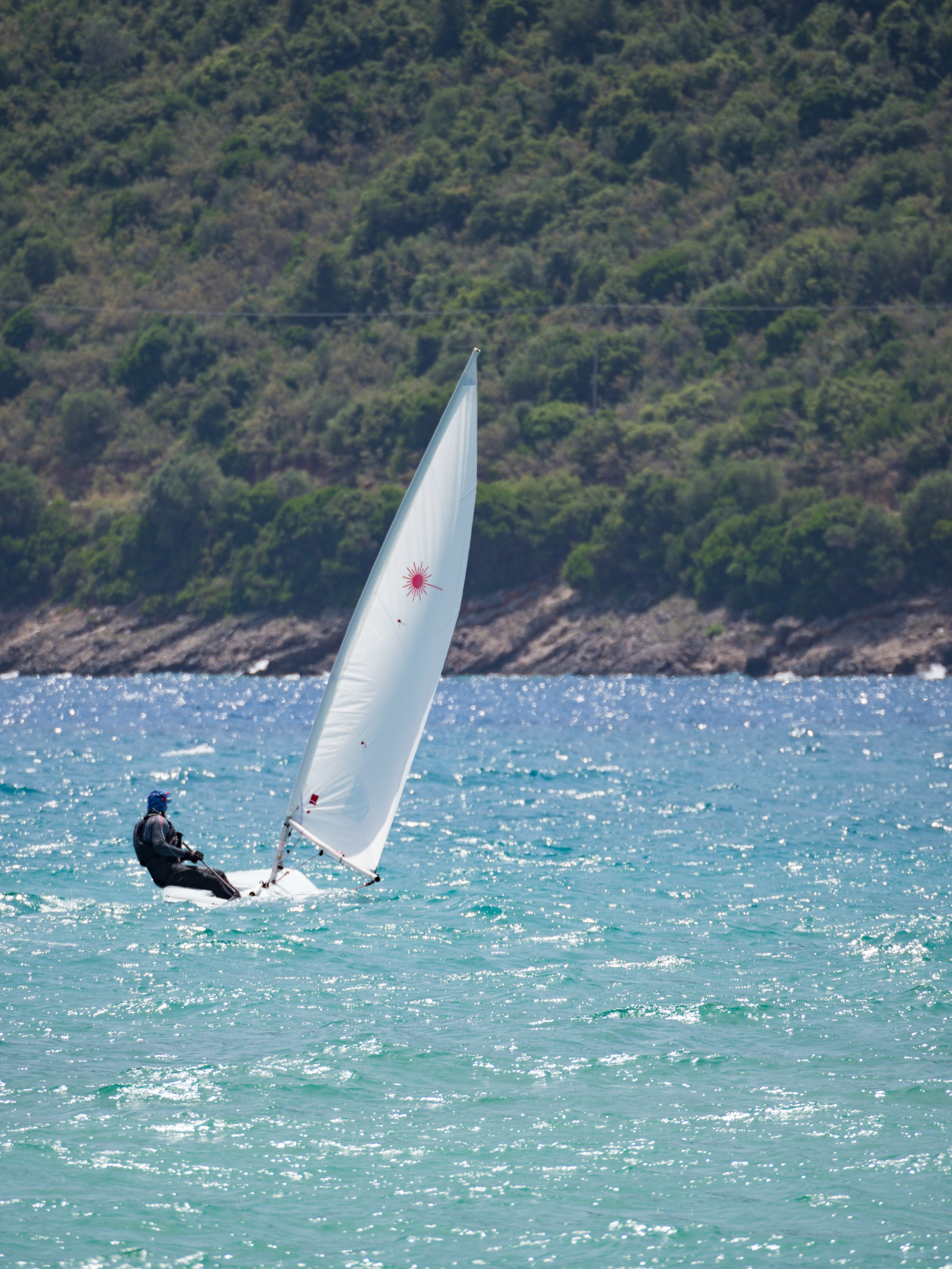 Free stock photo of sail, wind, laser, dinghy