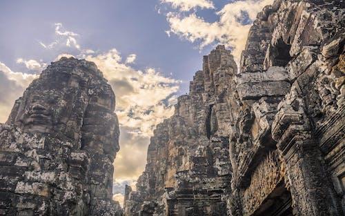 Fotos de stock gratuitas de angkor wat, atracción turística, bayon, camboyano