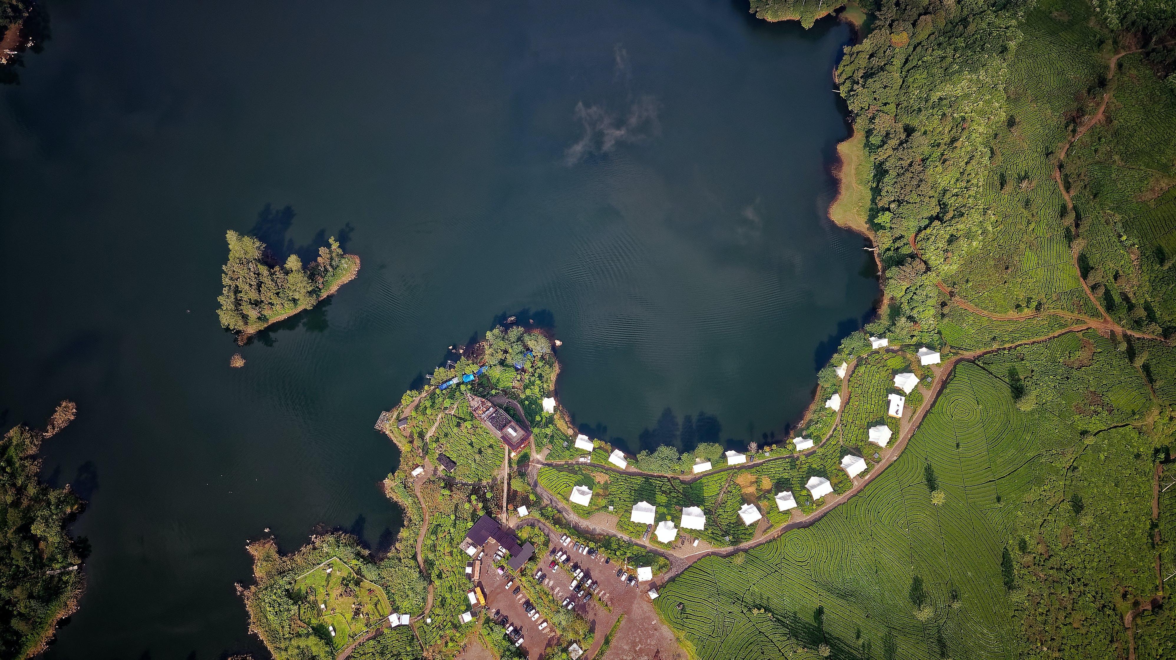 Aerial Photo of Green Island