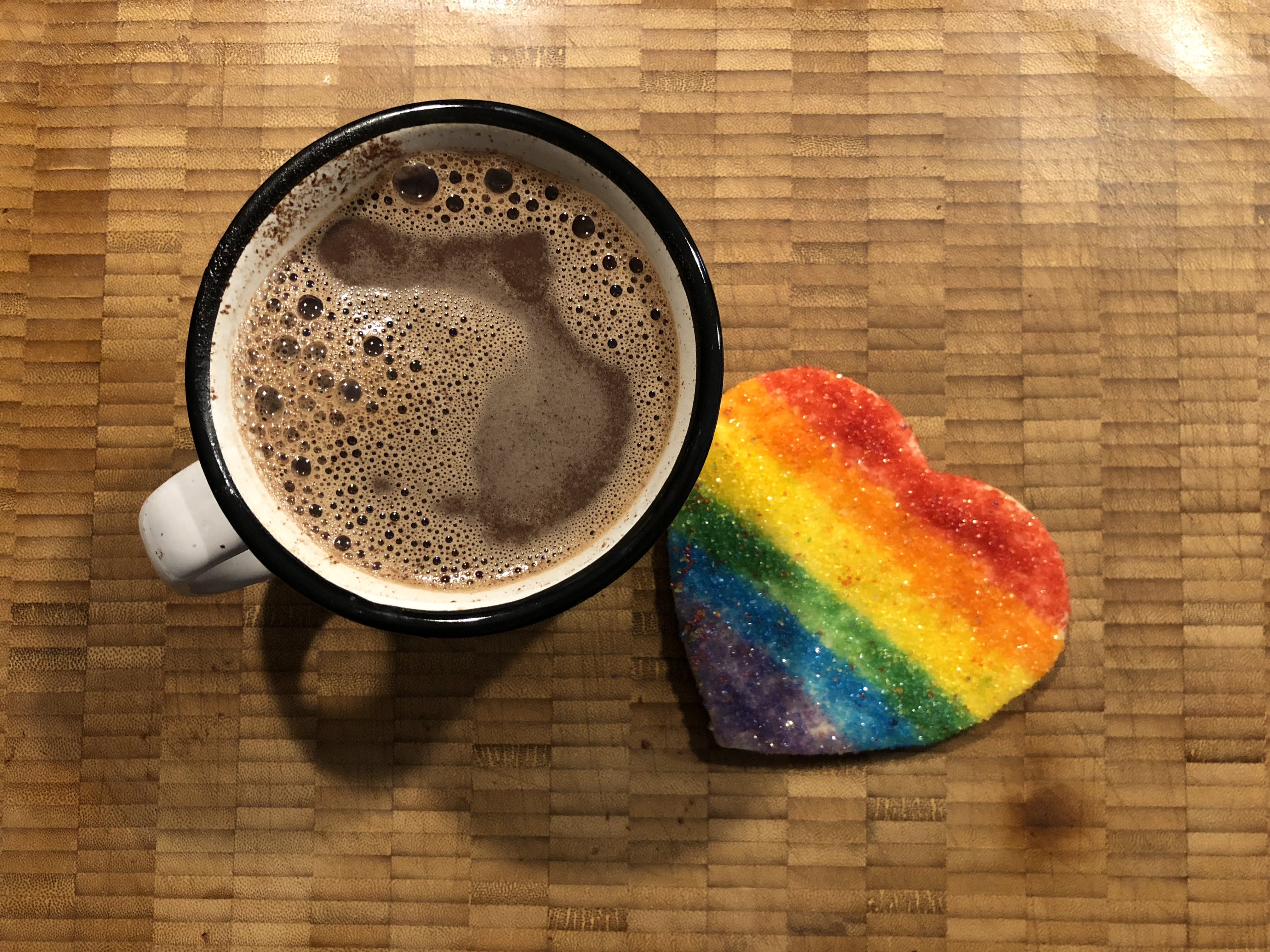 Kostenloses Stock Foto zu cookie, kakao, regenbogen, snack