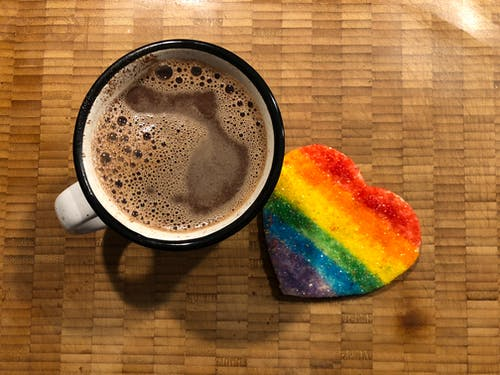 Free stock photo of beverage, cocoa, cookie
