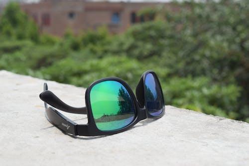 Бесплатное стоковое фото с зеленый, красочные очки, очки, солнечные очки