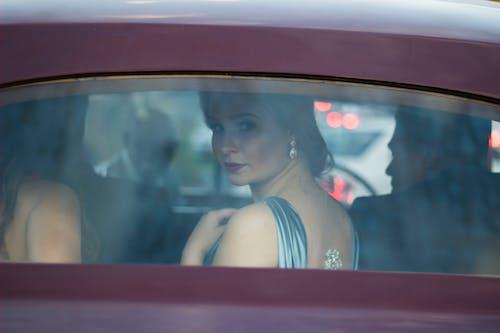Free stock photo of beautiful, car, dress