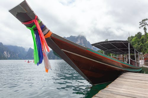 Free stock photo of boat, dam, float, floating