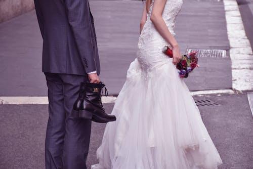 Foto profissional grátis de casamento, rua, ruas